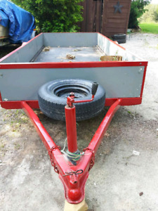 Utility or landscape trailer
