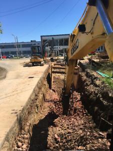 Heavy equipment Operators, Pipe Crew Foreman, Dump Truck Drivers