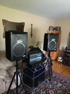 Professional Peavy PA System