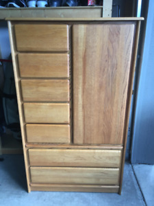 Dresser, Armoire and 2 Night Stands - Solid Wood