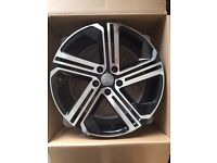 """BRAND NEW 18"""" AUDI RS3 S LINE STYLE ALLOYS- TT A5 A6 A7 A8 RS3 RS4 RS5 FULL SET"""