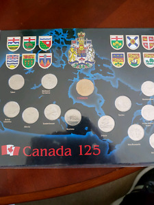 Canada 125 quarter set issued in 1992