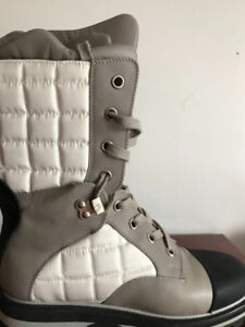 Authentic Like new Chanel winter boots