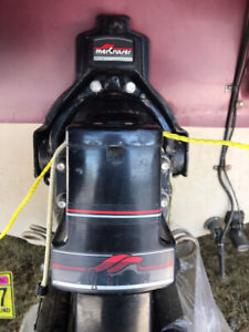 1990 Mercruiser Alpha 1  Gen 1 Transom assembly with Gimbal ring