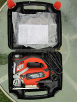 Black & Decker Orbital Jigsaw with Laser Guide & many features