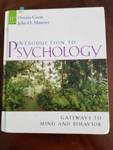 TEXTBOOK - INTRO TO PSYCHOLOGY, GATEWAY TO MIND