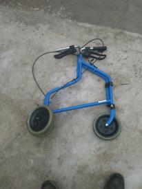 Walking aid wheels walking frame