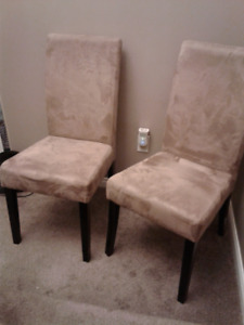 2 Chairs - Occasional Dining Accent