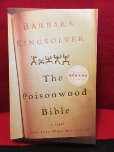 "'The Poisonwood Bible"" by Barbara Kingsolver-brand new condition"