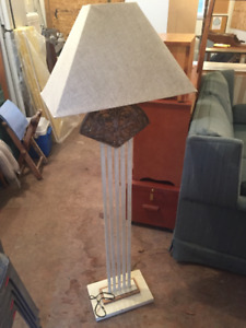 Contemporary Floor Lamp - Barely used, great condition
