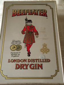 Beefeater Dry Gin Advertising Mirror