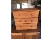 Solid pine shelving unit. Free delivery