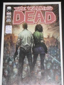 The Walking Dead #100 Silvestri Variant Cover 1st Neagan