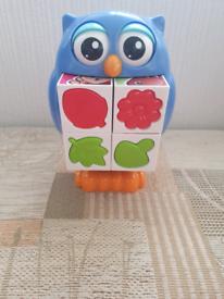 Owl toddler toy