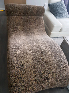 For sale leopard lounger