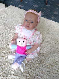Reborn baby toddler doll Kellie sculpt Phil Donnelly