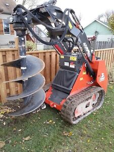 John's Post Holes!Lets get started! Stump Grinding too!Call now!