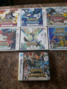 Pokemon and Mario 3DS game