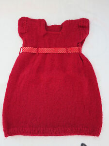 Hand-Knitted Sweater Dress (Girl 2 - 3T)