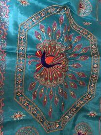 Embellished sari