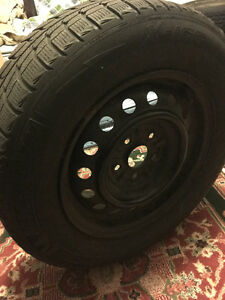 Michelin Tires with Rims: 205/65 R 15