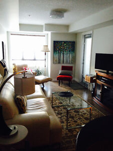 Executive Furnished Luxury Condo incl. undergrd heated parking