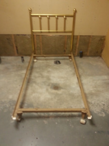 Bed Frame with Headboard - Bed Size is Single
