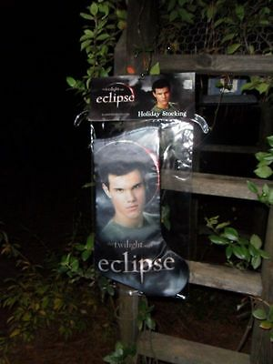 Twilight Eclipse Breaking Dawn Jacob Taylor Lautner Christmas Holiday Stocking
