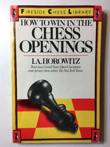 BOOK - CHESS OPENINGS BY I.A. HOROWITZ