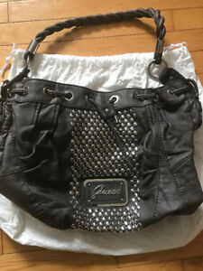 Authentic studded Guess bag!