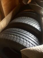 4 new never used winter tires 245/70r17