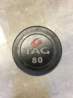Tag Dumbbells 80-120lbs (5lbs increments)