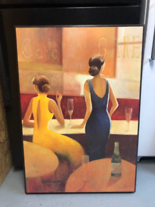 2 Large Framed Prints from Urban Barn