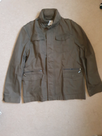 John Rocha Jacket/M size/Distressed Brown/Jacket coat