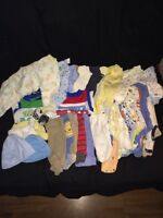 newborns for boys& diapers size 1-2