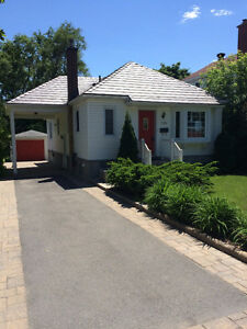 Gorgeous, updated Westboro bungalow 2 bdr +den, 2 bath–  Sept. 1