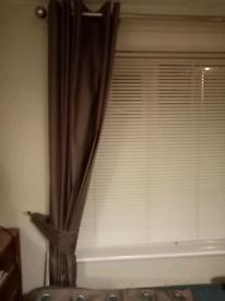 Dunelm curtains 167cmx137cm pair