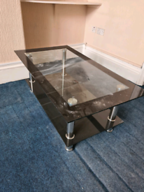 Glass table perfect condition