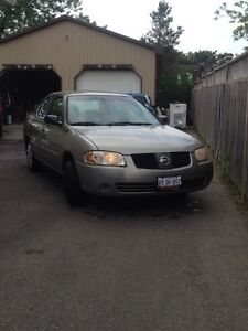 2004 Nissan Sentra LOW KMs Cert+Etested