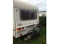Abbey expression Caravan 1994 with full awning