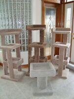 Cat Houses / Tree Houses / Scratching Posts - $160