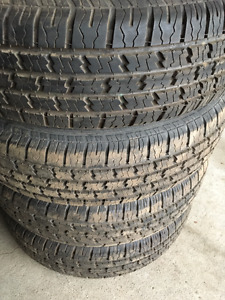 (4) x HERCULES LOOSE ALL SEASON TIRES - 215/75/15