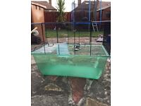 Hamster cage free to go