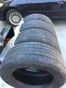 275/55R19 - 4 all season continental tires Kitchener / Waterloo Kitchener Area image 4