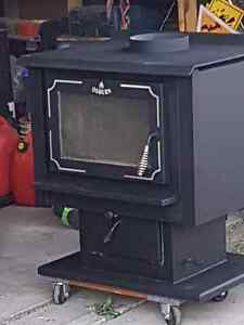 Osburnwood stove for sale with pipes