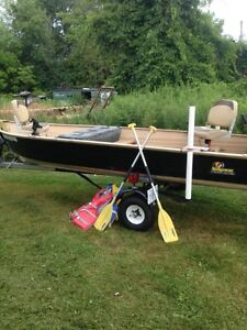 14' Completely Restored Alumacraft with 25 HP 4 Stroke Evenrude