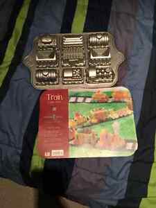 Nordicware train cake pan. Thomas?