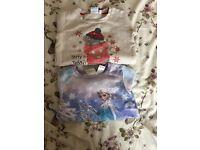 Frozen and Tatty Ted Sweatshirts