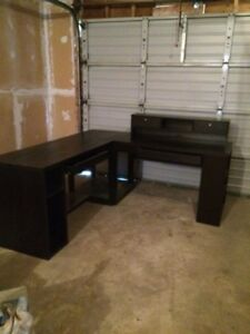 Large 4 pc desk