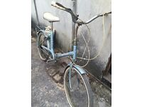 Vintage folding bike